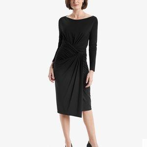 NWT MM Lafleur The Keiko Dress in Black Si…